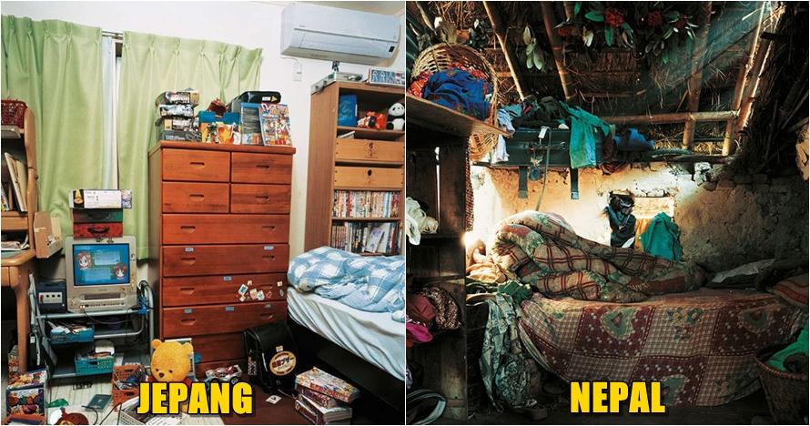 17 Potret kamar anak-anak di berbagai negara, dari bersih sampai kumuh