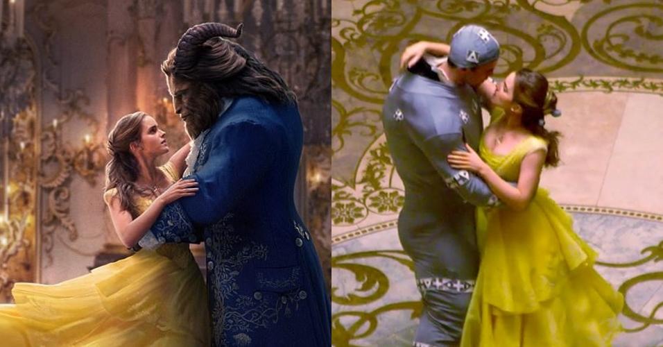 6 Potret di balik layar Beauty and the Beast sebelum dipoles efek CGI