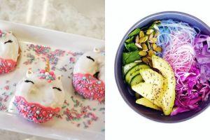 6 Kuliner tema unicorn ini pernah hits di medsos, dari mi hingga pizza