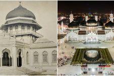 11 Foto transformasi Masjid Baiturrahman Aceh, mirip Masjid Nabawi