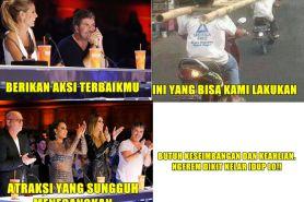5 Meme ini tunjukkan kalau orang Indonesia ikutan AGT, kocak abis