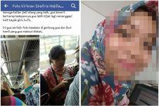 Nggak mau ngalah sama ibu hamil, kelakuan cewek ini dihujat netizen
