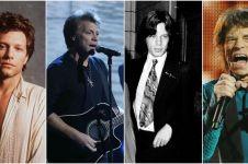 20 Foto tunjukkan bintang rock dunia dulu atau kini tetap menawan