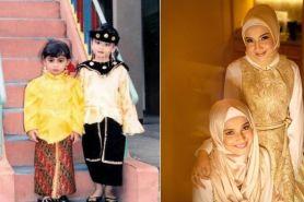 8 Foto masa kecil Zaskia dan Shireen Sungkar, bukti keduanya awet imut