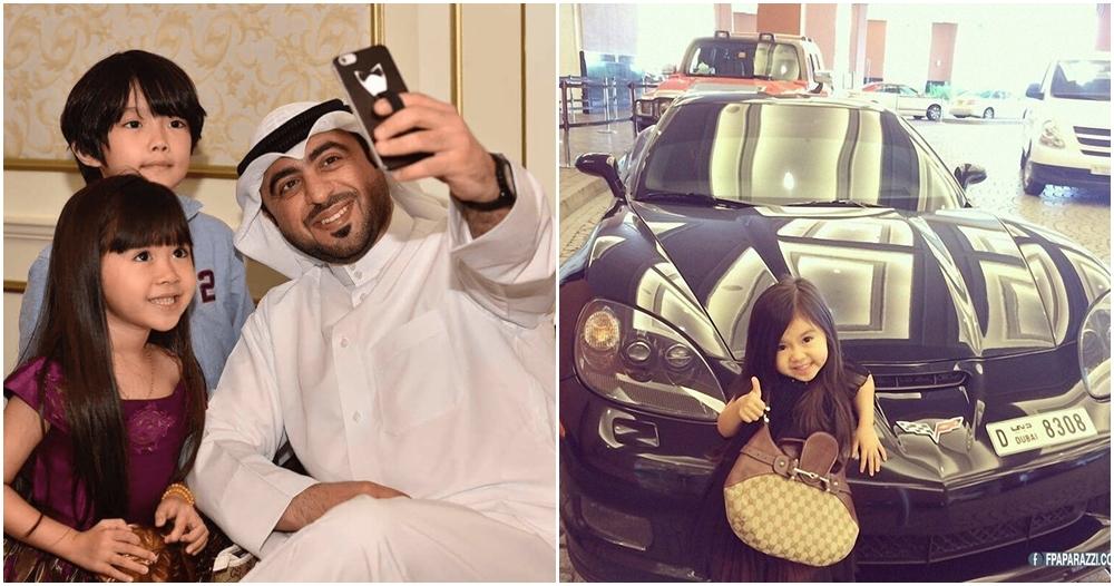 Karena Instagram, gadis cilik Korea ini jadi kesayangan saudagar Dubai