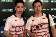 Inikah penyebab Kevin/Marcus kalah di putaran pertama Indonesia Open?