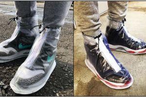 Dry Steppers, mantel sepatu bikin kamu tetap gaya saat hujan