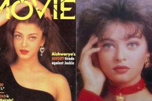 10 Foto lawas Aishwarya Rai saat berpose untuk cover majalah