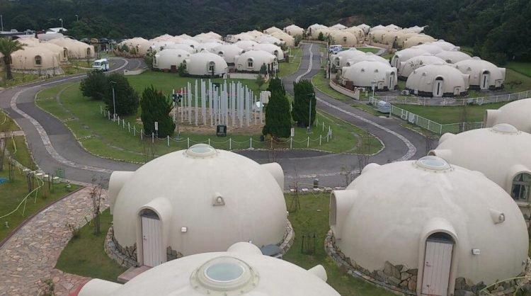 Jepang bangun rumah anti gempa dari sterofoam, desainnya unik