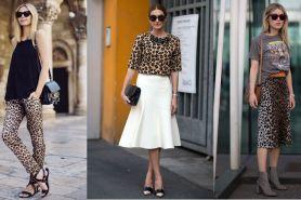 10 Padu padan fashion item motif leopard tanpa terlihat norak