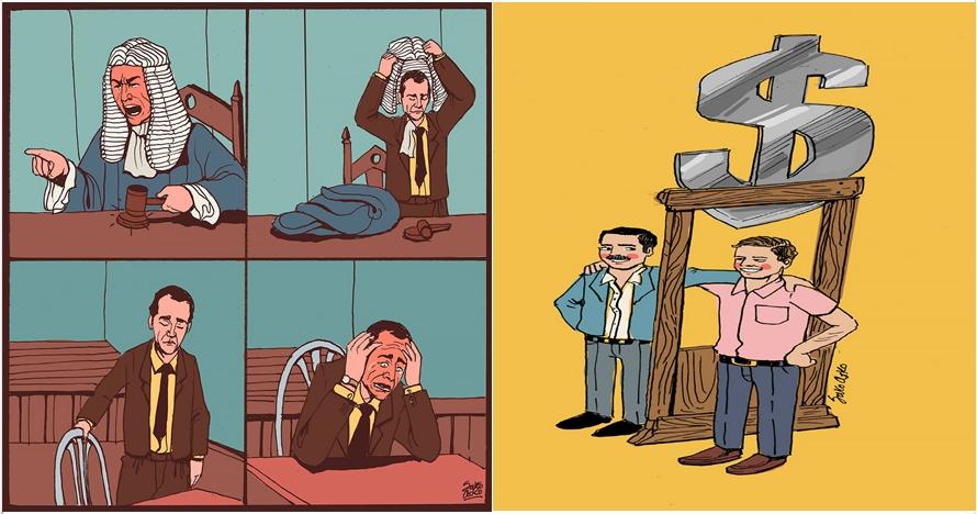 15 Ilustrasi ironi kehidupan, awas kesindir