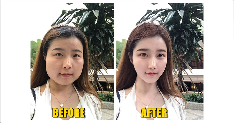 Foto Before After Editan P Oshop Wajah Ini Bikin Melongo