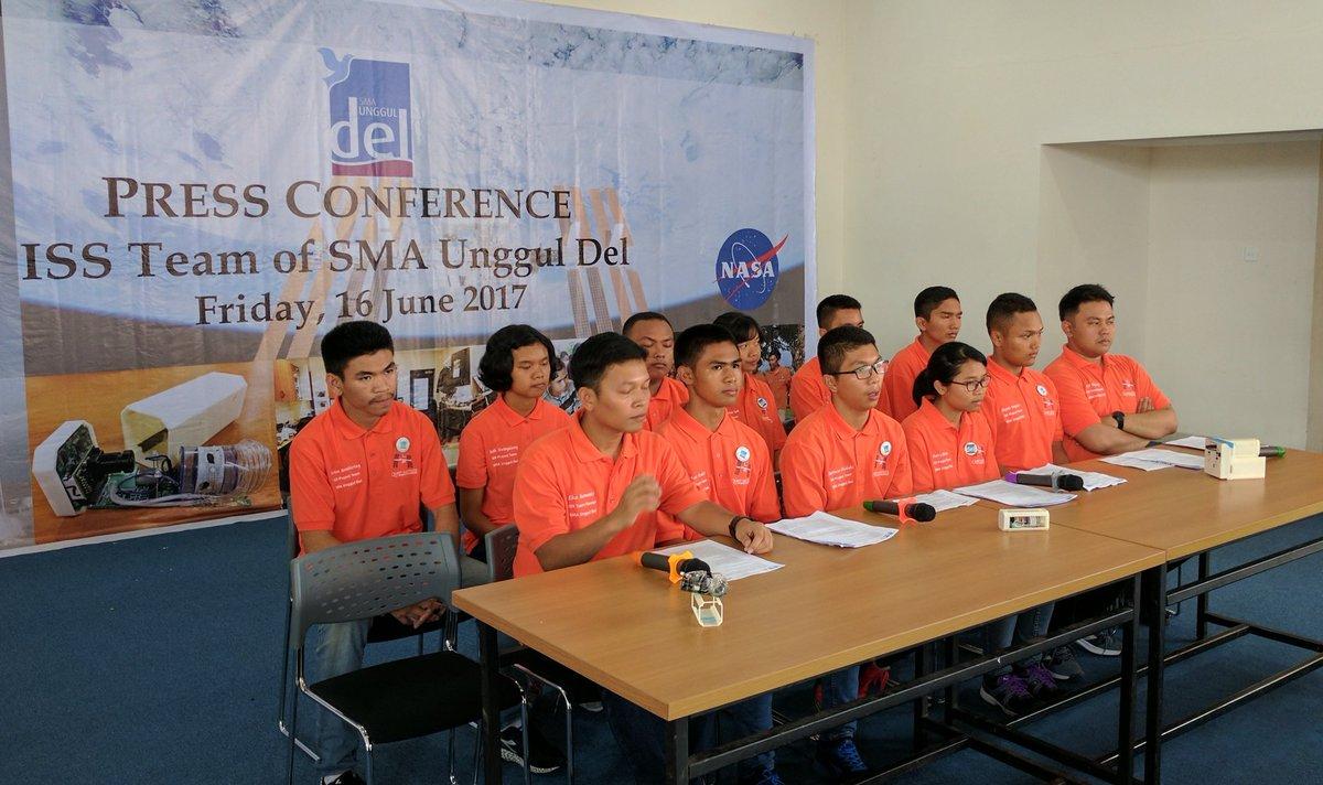 SMA di Indonesia ini terpilih kerjasama dengan NASA di luar angkasa
