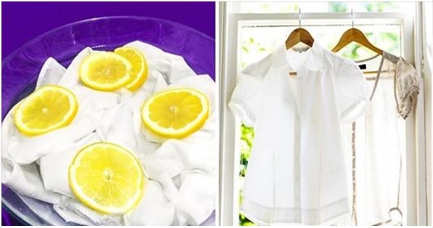 6 Life hack ini bisa kamu praktekkan agar baju putihmu tetap kinclong