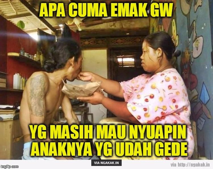 10 Meme 'apa cuma emak gue' ini tunjukkan mamak-mamak itu gokil abis