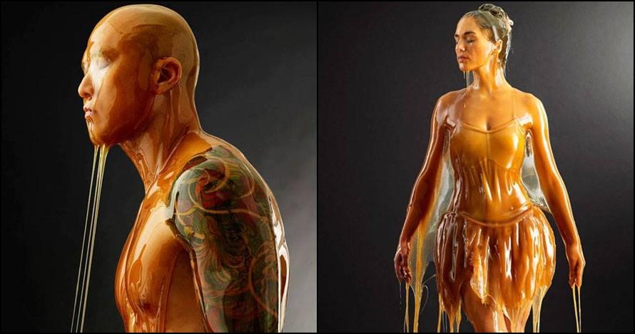 10 Potret artistik ketika manusia mandi madu, keren parah
