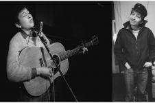 15 Foto tunjukkan musisi tenar Bob Dylan ganteng berkarisma saat muda