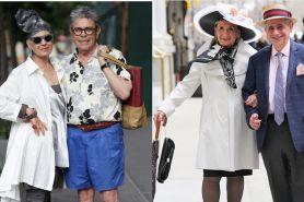 13 Pasang kakek-nenek ini gayanya swag abis, anak muda pun kalah