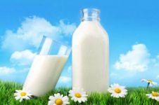 Susu bisa diaplikasikan di sekitar mata, manfaatnya tak terduga
