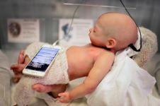 Kamu tak akan menyangka kalau tahu aslinya bayi ini.