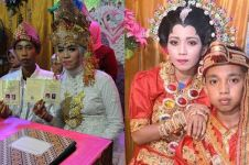 4 Kisah pernikahan remaja ini pernah bikin heboh dunia maya
