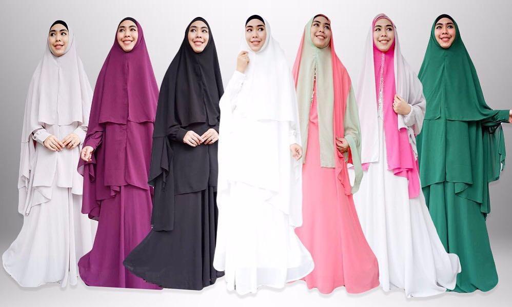 Ingin tampil syar'i saat Idul Fitri? Begini tipsnya
