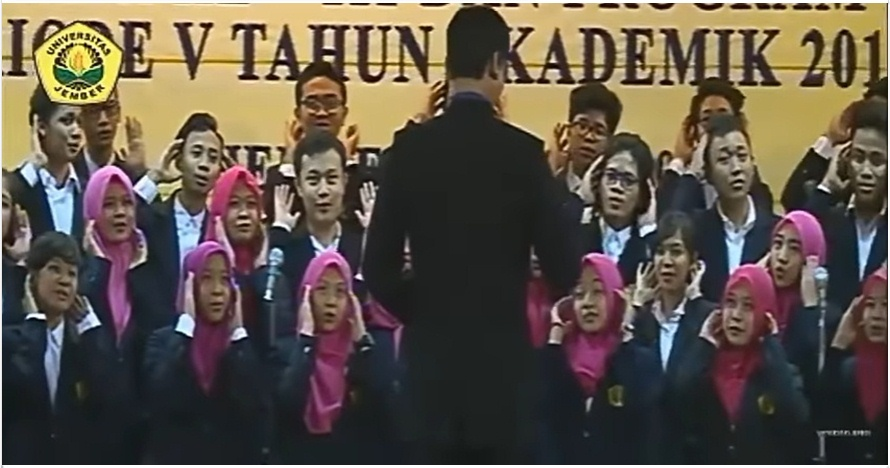 Lagu wisuda Universitas Jember ini jadi viral, antimainstream