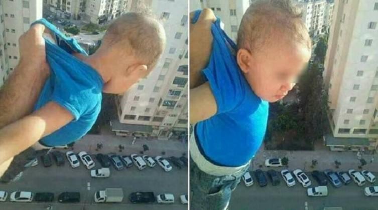 Pria ini ancam jatuhkan bayi dari lantai 15 jika tak dapat seribu like