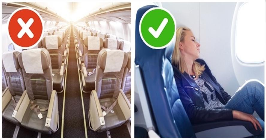 9 Life hack perjalanan pesawat agar tak melelahkan meski berjam-jam
