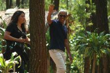 Begini gaya Obama saat piknik ke Pinus Becici Yogyakarta