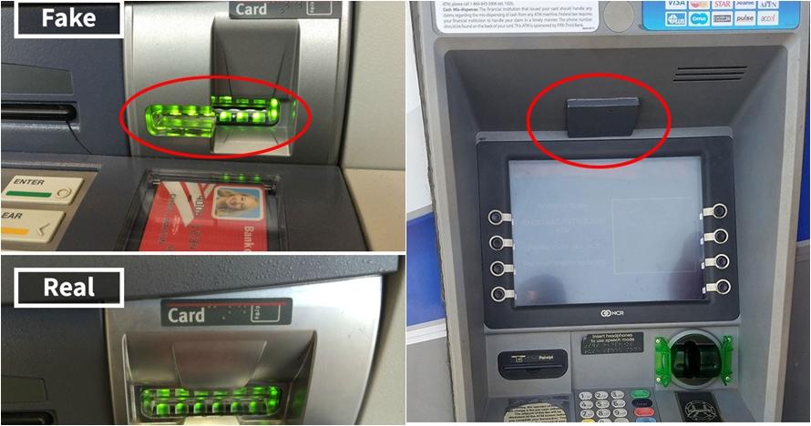 7 Foto modus penipuan yang sering terjadi di ATM