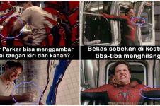 10 Foto kesalahan di film Spider-Man ini pasti tak kamu sadari