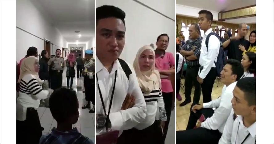 Video keributan saat seleksi calon Taruna Akpol di Polda Jabar