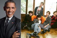 Bukan EXO atau BTS, ini boyband K-Pop yang jadi favorit Obama