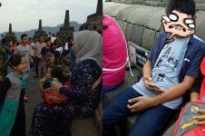 Curhatan wanita soal Candi Borobudur kini telah 'rusak', bikin sedih