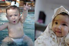 10 Foto imutnya Seraphina Rose, bayi Yasmine Wildblood yang gemesin