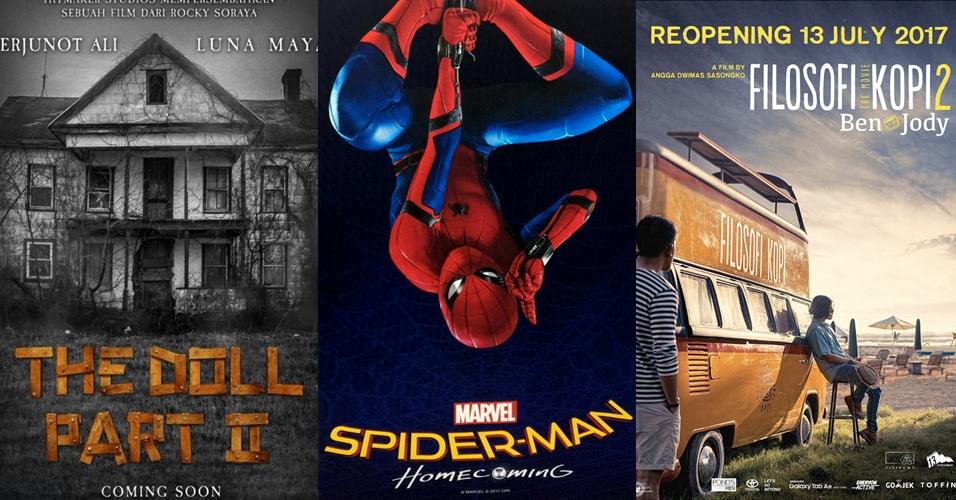 11 Film yang bakal rilis bulan Juli, mana yang paling kamu tunggu?