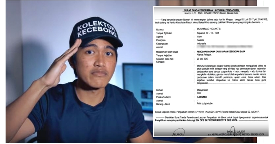 Gara-gara video ini, Kaesang Pangarep dilaporkan ke polisi