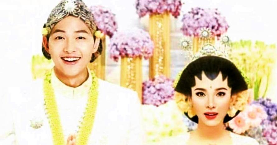 Ini jadinya jika Song-Song Couple menikah pakai 5 baju adat Indonesia
