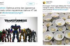 15 Cuitan lucu soal Indonesia dukung HT ini kocak parah