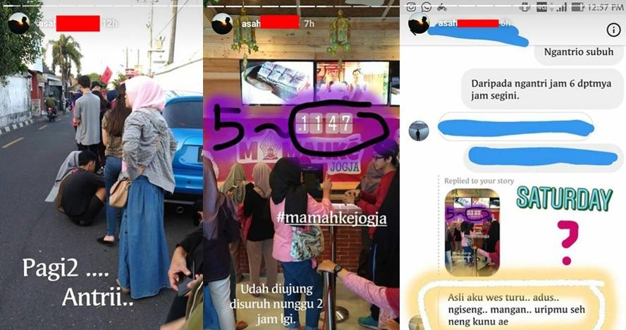 Keluhan netizen saat mau beli produk Mamahke Jogja, antre sampai 8 jam