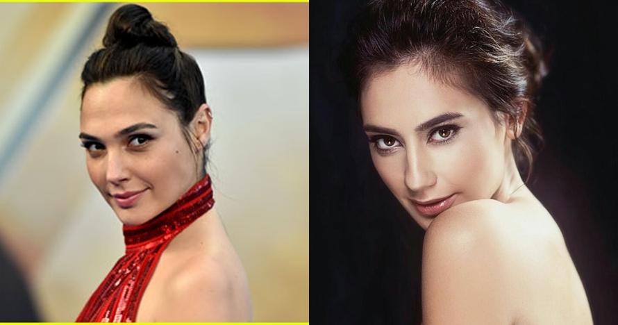 5 Foto bukti Marissa Nasution 'kembar' dengan Gal Gadot