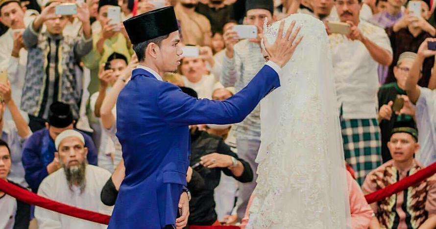 Sah, ini 10 foto pernikahan Muzammil si qari ganteng ITB