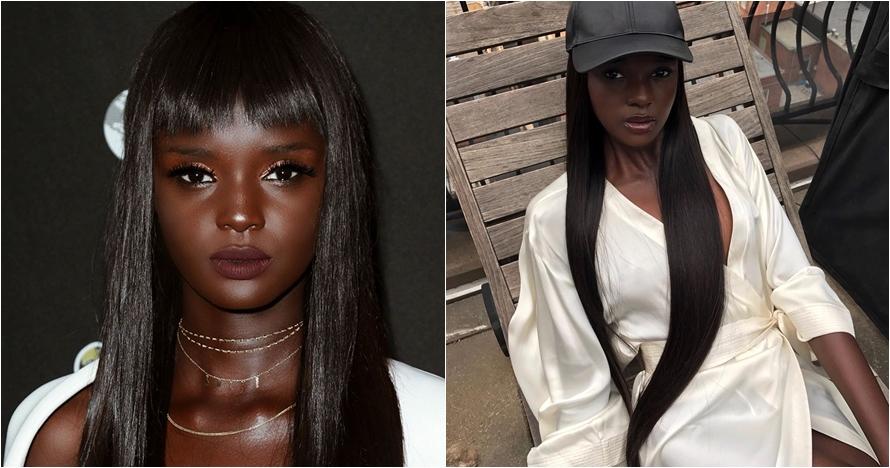 Mirip barbie, model ini tunjukkan kecantikan wanita berkulit legam