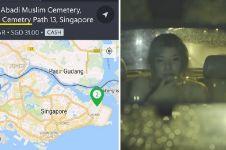 Kisah ngenes sopir taksi online jemput penumpang di kuburan jam 3 pagi
