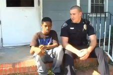 Hadapi konflik anak vs ibu, penyelesaian polisi ini bikin haru