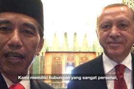 Sambangi Turki, begini gaya Jokowi nge-vlog bareng Erdogan