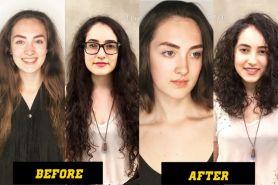12 Foto sebelum & sesudah potong rambut, bikin penampilanmu beda
