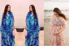 10 Penampilan terbaru Celine Evangelista, hamil makin cantik aja nih