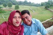 Cinta bersemi di Gojek, pengantin baru ini diarak keliling kampung